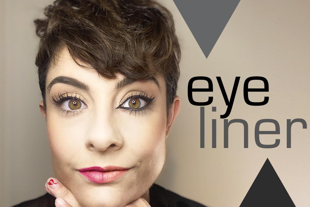 Eyeliner. Tipos y formas según el tipo de ojo
